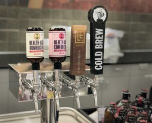 Cold brew and kombucha tap handles